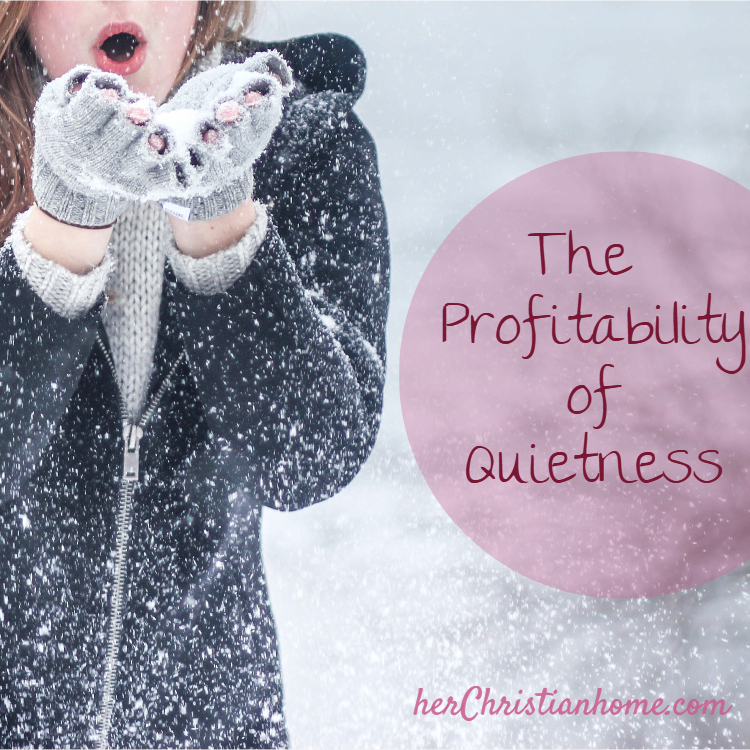 Text photo: The profitability of quietness