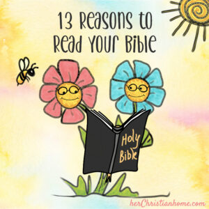 Why should I read my Bible - 13 reasons why