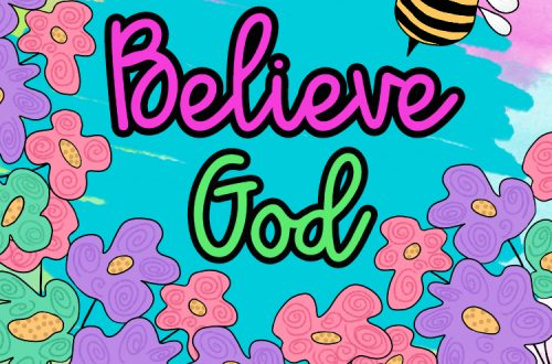 Just Believe God - devotional title image