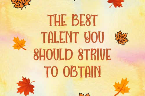 Image title text the best talent you should obtain