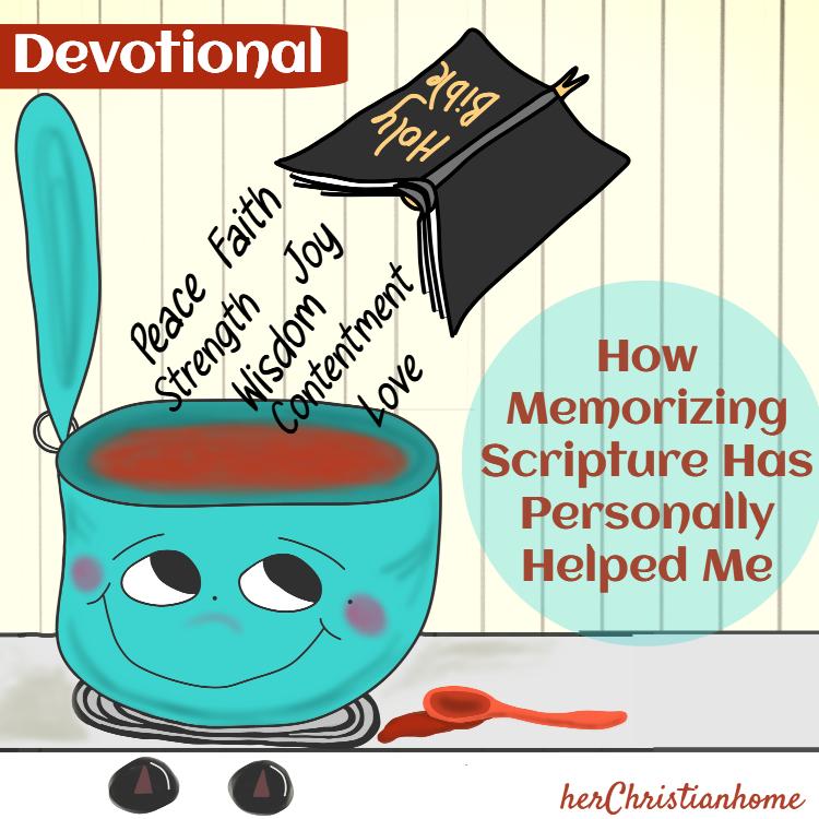 How memorizing Scripture has personally helped me - womens kjv devotional